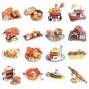 뜯어만드는세상 세계의 전통음식/입체퍼즐 3D퍼즐모형