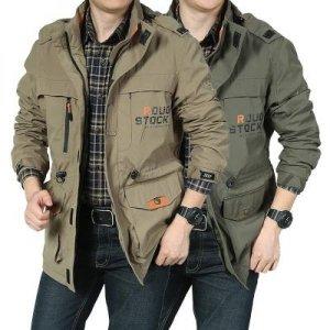 봄점퍼 숏야상 무이복 재킷 포켓 봄바람막이 춘추 야