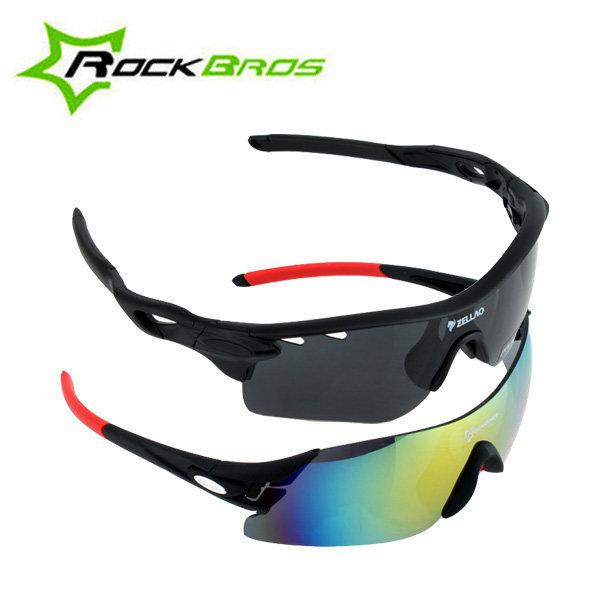 스포츠 고글 편광 선글라스 자전거 낚시 변색썬글라스