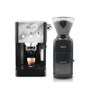 그랜가찌아 커피머신+바라짜 엔코 그라인더 SET
