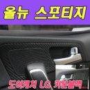데칼 올뉴스포티지 도어캐치 LG 카본블랙 데칼스티커