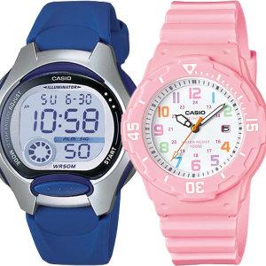 카시오 어린이 초등학생 방수 전자 손목 시계