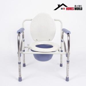 이동식 환자용 좌변기/접이식/변기/요강/목욕의자