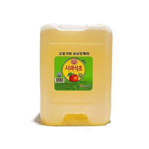 사과식초18L (오뚜기/말통) 대용량 식자재