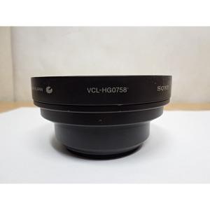 소니 캠코더 광각렌즈 VCL-HG0758(정품)
