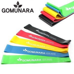 GOMUNARA 루프밴드 1~5단계 고무밴드 라텍스 풀업밴드