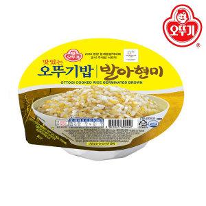 오뚜기밥 발아현미 210g 1box(12개)