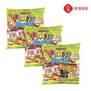 패밀리팩 8봉X3묶음 (치토스/꼬깔콘/오잉/웰빙곡물)