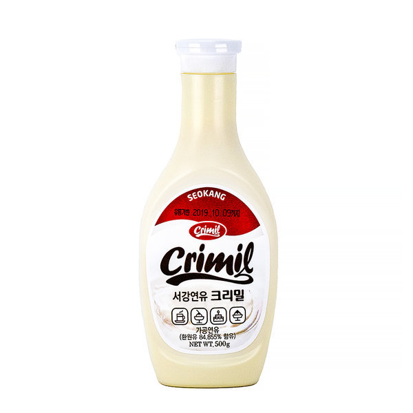 서강 연유 크리밀 500g 빙수 우유 시럽 연유시럽