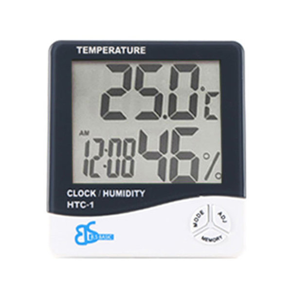 디지털 온도계 습도계 온습도계 시계