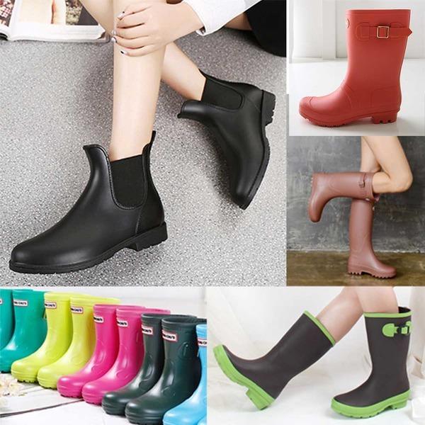 8e983ab2601 여성/아동 패션 장화 레인부츠 장마 미들장화 신발 - 옥션