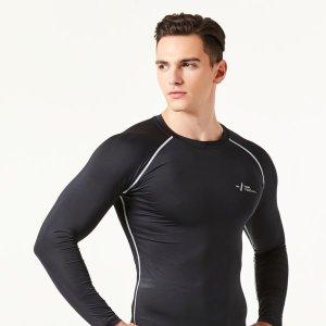 기능성 스포츠 이너웨어 4계절 긴팔 언더레이어 셔츠
