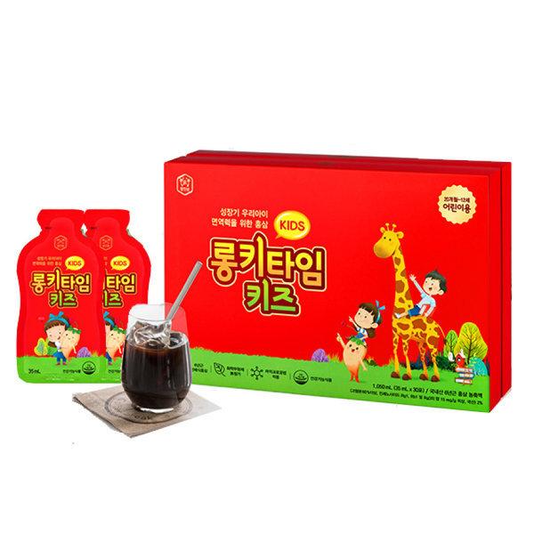 롱키타임 키즈 30포 / 어린이홍삼 (35ml x 30포)