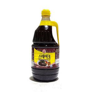 스테이크소스2.1kg (오뚜기) 대용량 소스