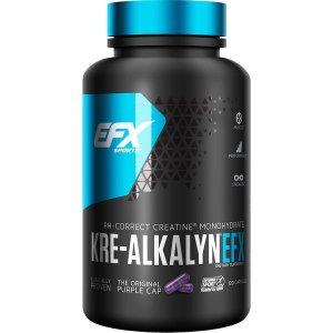 EFX Sports KRE-ALKALYN 크레 알카린 EFX 120 캡슐
