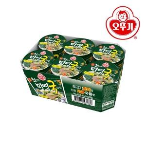 쇠고기미역국라면 컵(60gx6) 1박스
