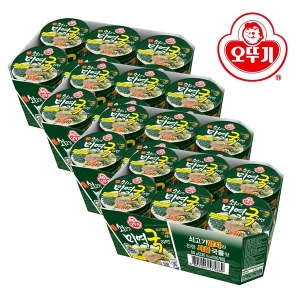 쇠고기미역국라면 컵(60gx6) 4박스
