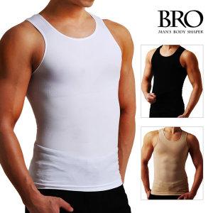 BRO 브로 남성 남자 보정속옷 나시 런닝 뱃살 여유증