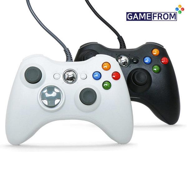 XBOX360 호환 PC게임패드 화이트 피파 / 스팀 컨트롤러