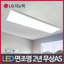 LED 슬림 엣지 면조명 직사각 50W 공부 방 조명 안방
