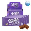 밀카 초콜릿 알프스밀크 100g 12개