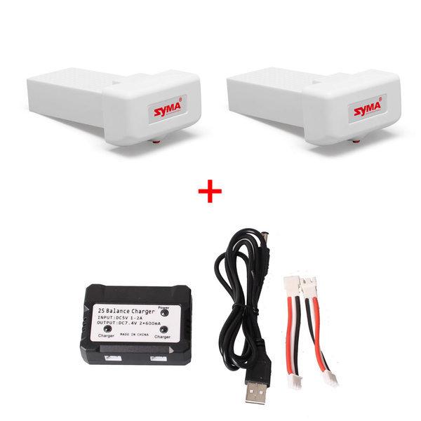 X8PRO용 배터리팩2개+2IN1멀티충전기 특가구성