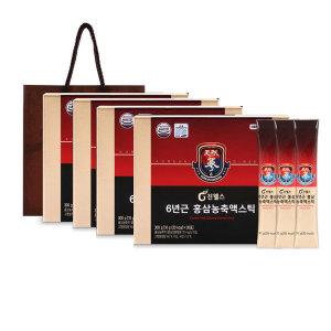 3+1 6년근 홍삼 농축액스틱10g x 30포(4개월분)