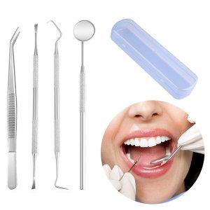 의료용 치석제거기 치석제거 4종셋트 케이스증정