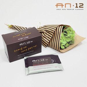 AN12 항문전용 클렌징티슈/1박스(10매x5입)