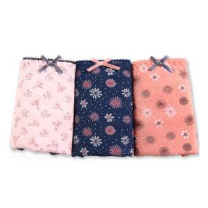 여성속옷 제이위생 위생팬티세트 삼각 미디 맥시 면스판 텐셀 햄팬티