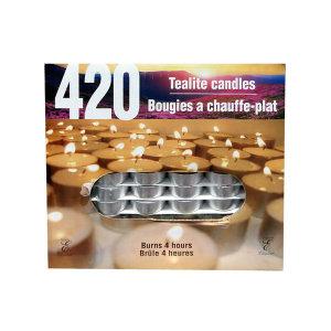 티라이트 캔들 420개 양키캔들 향초 인테리어