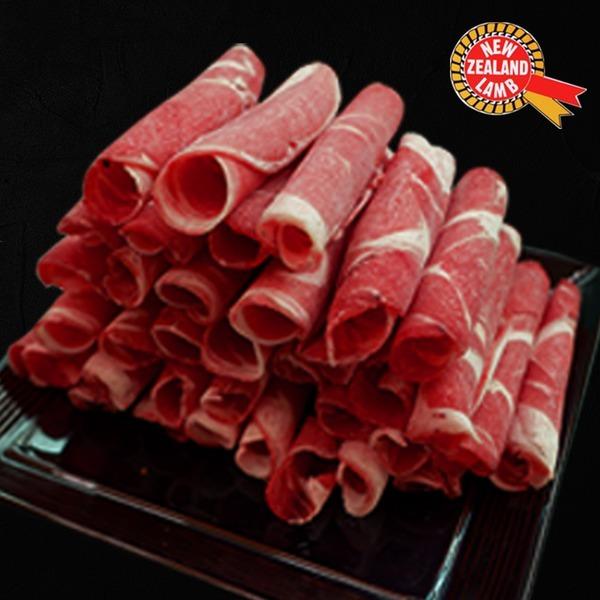 샤브용 어깨살1kg(500gX2)시즈닝/양고기/샤브샤브