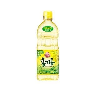 오뚜기 식용유 900ml/콩기름/기름