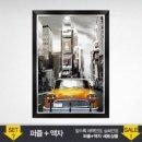 500P 퍼즐 타임스퀘어 택시 모던블랙액자 퍼즐 그림퍼