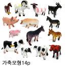 가축모형완구/유치원 동물학습완구 장난감