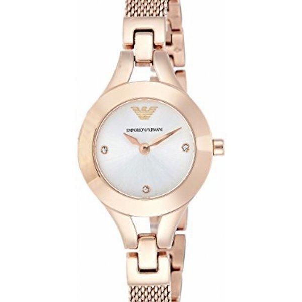 Emporio Armani Womens AR7362 Dress Rose Gold Watch