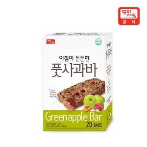 아침이든든한 풋사과바 25g x 20입 /식사대용/에너지바