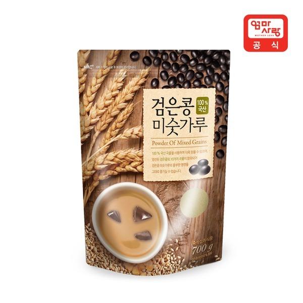 국산 검은콩 미숫가루 700g     /식사대용/블랙선식