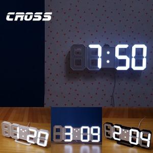 3D 디지털 무소음 LED 시계