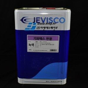 제비스코 반광택수성도료 기와텍스기와지붕 남색 18L