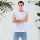 남자 나시티 헨리넥 티셔츠 / 민소매  헬스복 3N09