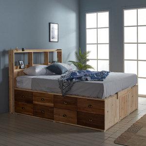 수납침대 침대프레임 원목침대 주문제작가능 공간활용