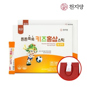 튼튼쑥쑥 키즈 홍삼 스틱 망고맛 30포 2박스