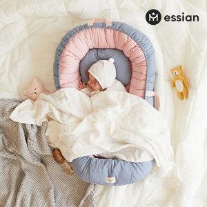 신생아보트 아기침대 (인디핑크)