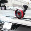차량용 무선 선풍기 자동차 휴대용 미니 카팬 토드흡착