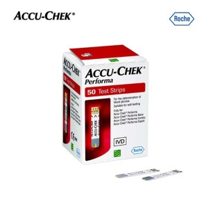 로슈 ACCU-CHEK 퍼포마(Performa) 혈당시험지  50매