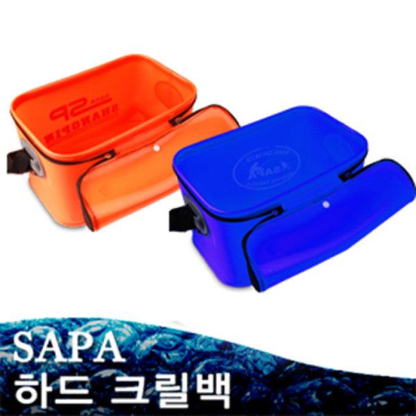 사각크릴백 小 다용도 방수통 밑밥통 삐꾸통 방수망/ 하드소재//낚시 보조가방