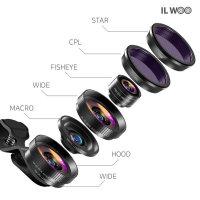 4K HD 스마트폰광각 셀카렌즈 접사 CPL 어안렌즈