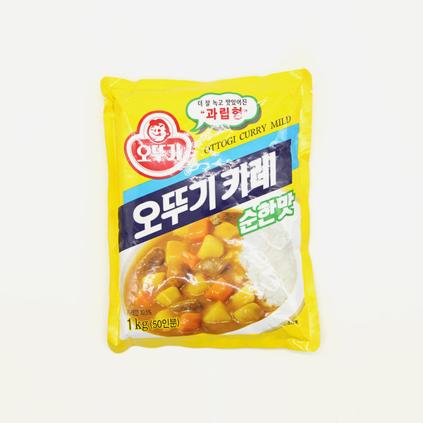 오뚜기 카레 순한맛 1KG