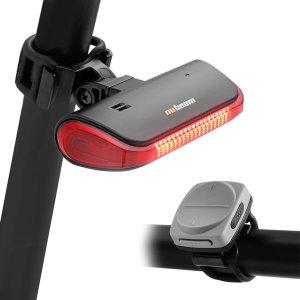 누빔 NB-600 자전거 방향지시등 도난경보기(검정)